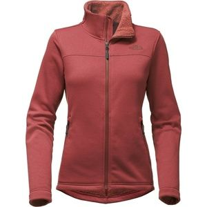 The North Face Timber Fleece Full Zip Barolo Red